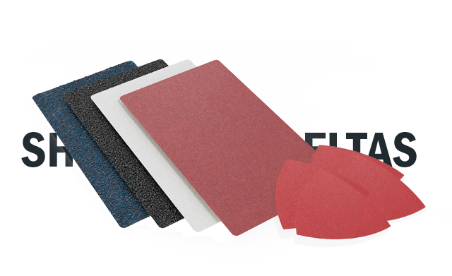 Awuko abrasives Sheets and Deltas